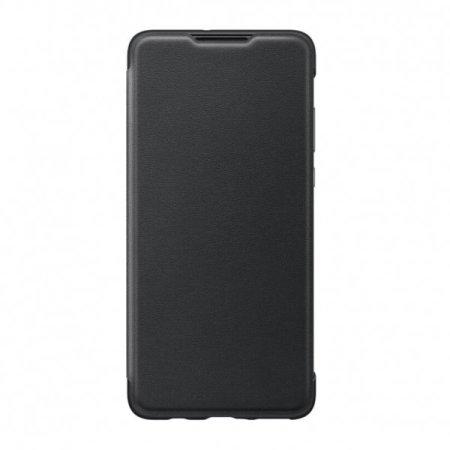Official Huawei P30 Lite Flip Wallet Case - Black