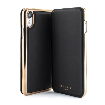new product 8d9d9 e93ce Ted Baker iPhone XR Mirror Folio Case Shannon - Black