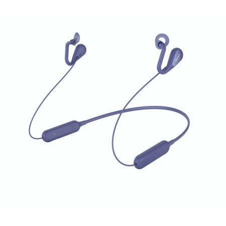 Écouteurs sans fil officiels Sony SBH82D Bluetooth & Open Ears – Bleu