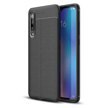 Olixar Attache Xiaomi Mi 9 Leather-Style Case - Black