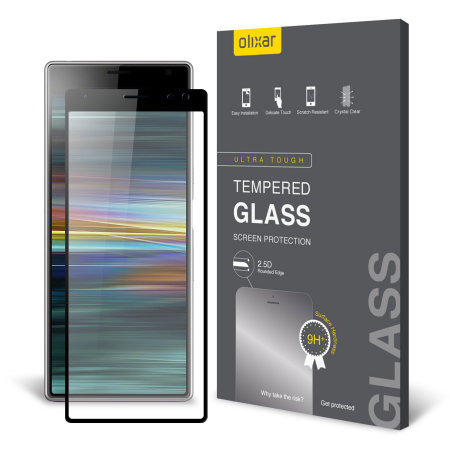 Olixar Sony Xperia 10 Plus Full Cover Glass Screen Protector