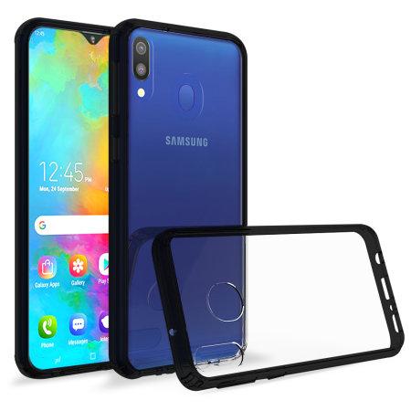 Olixar ExoShield Tough Snap-on Samsung Galaxy M20 Case - Black