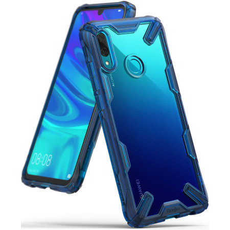 watch caed9 412ba Ringke Fusion X Huawei P Smart 2019 Case - Space Blue