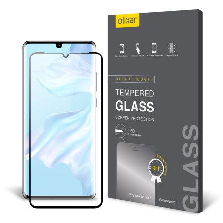Olixar Huawei P30 Pro Fullscreen Glazen Schermbeschermer
