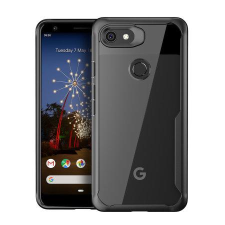 Olixar NovaShield Google Pixel 3a XL Bumper Schutzhülle - Schwarz