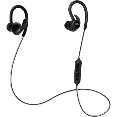 JBL Reflect Contour Bluetooth Wireless Sports Headphones - Black