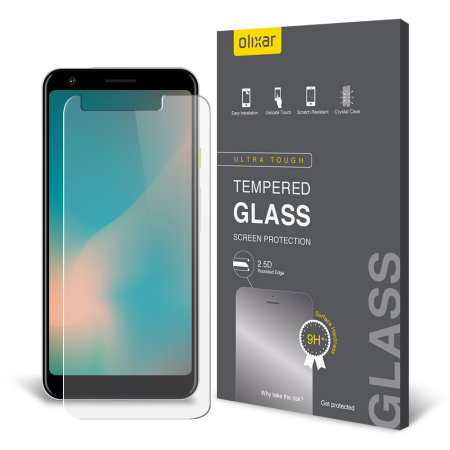 Olixar Google Pixel 3a XL Tempered Glass Screen Protector