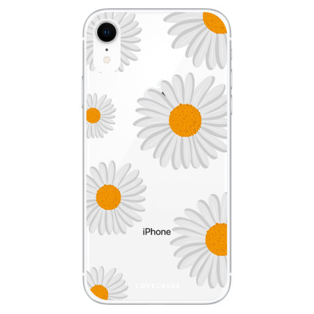 LoveCases iPhone XR Daisy Case - White