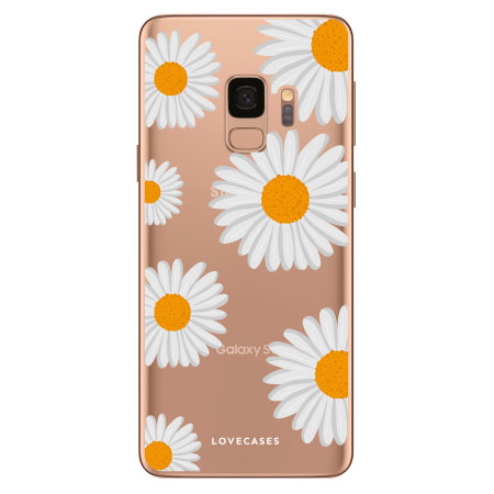 LoveCases Samsung S9 Plus Daisy Case - White
