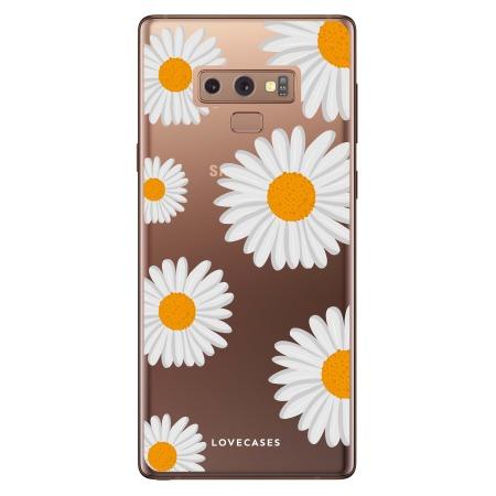 LoveCases Samsung Note 9 Daisy Case - White