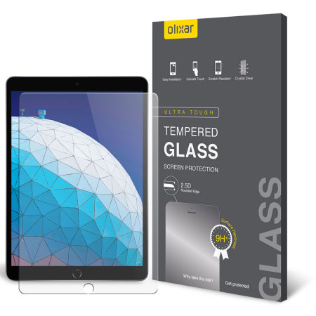 Olixar iPad Air 2019 Tempered Glass Screen Protector