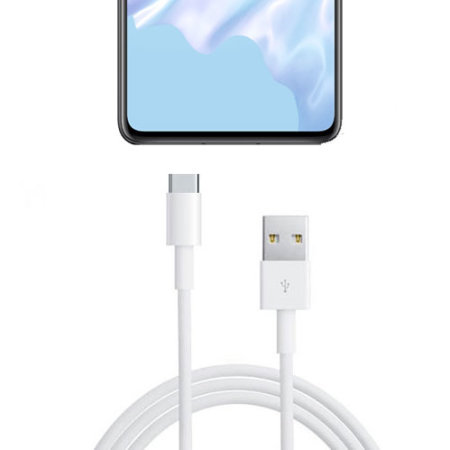 Official Huawei P30 Super Charge USB-C Cable 1m - AP71 -  White