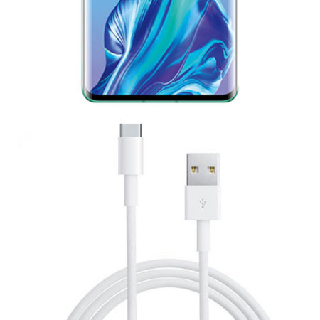 Official Huawei P30 Pro Super Charge USB-C Cable 1m - AP71 -  White