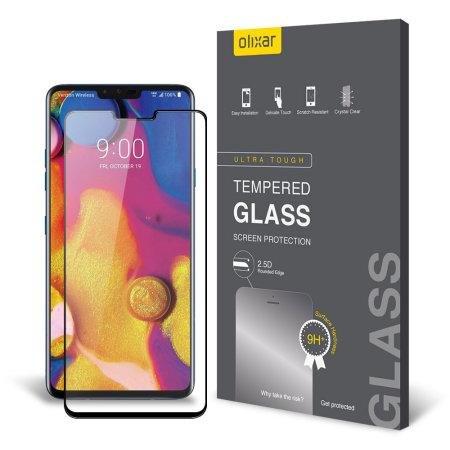 Protector de Pantalla LG G8 Olixar Cristal Templado