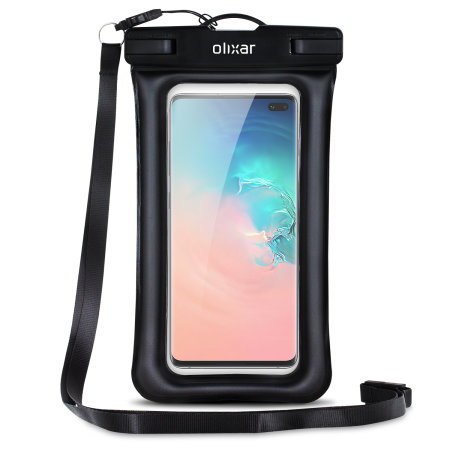 check out 14ca4 4582a Olixar Samsung Galaxy S10 Plus Waterproof Pouch - Black