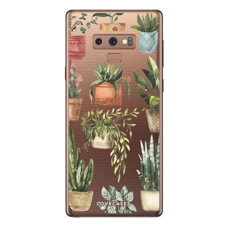 LoveCases Samsung Galaxy Note 9 Gel Case - Plants