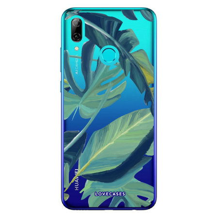 LoveCases Huawei P Smart 2019 Tropical Phone Case - Clear Green.