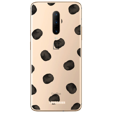 LoveCases OnePlus 7 Pro Polka Phone Case - Clear Multi