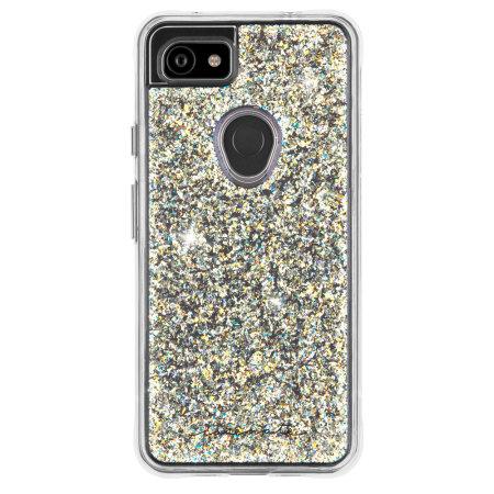 Case Mate Google Pixel 3a XL Twinkle Glitter Case- Stardust