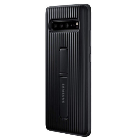 Official Samsung Galaxy S10 5G Protective Stand Cover Case - Black