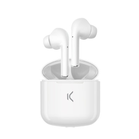 KSIX TrueBuds True Wireless-oortelefoon met microfoon - Wit