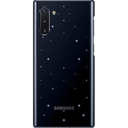 Official Samsung Galaxy Note 10 LED Cover Case - Black