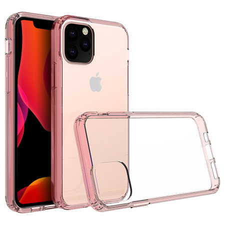 Olixar ExoShield Tough Snap-on iPhone 11 Pro Case  - Rose Gold / Clear