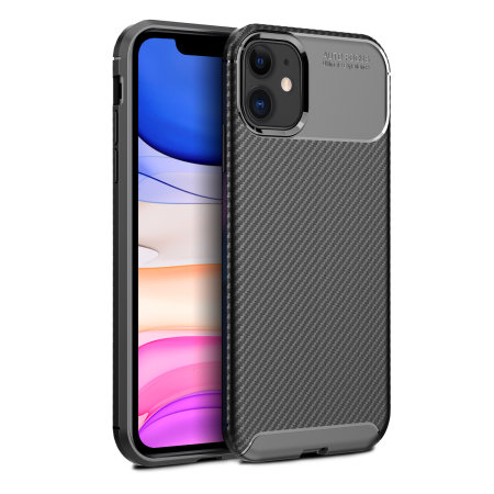 6decae8797d Funda iPhone XIR Olixar Fibra de Carbono - Negra