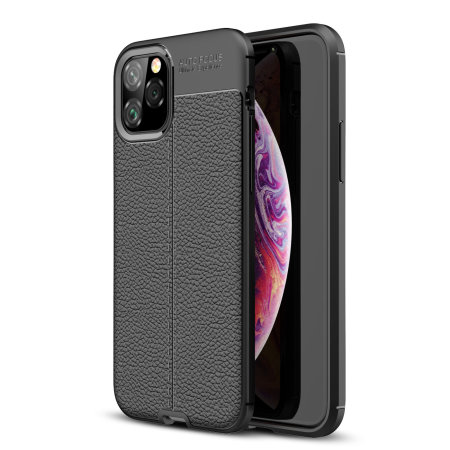 Olixar Attache iPhone 11 Pro Leather-Style Protective Case - Black