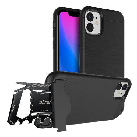 Olixar X-Ranger iPhone 11 Tough Case - Tactical Black