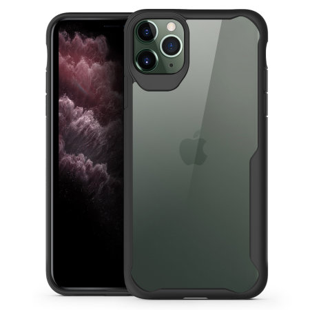 Olixar NovaShield iPhone 11 Pro Max Case - Zwart