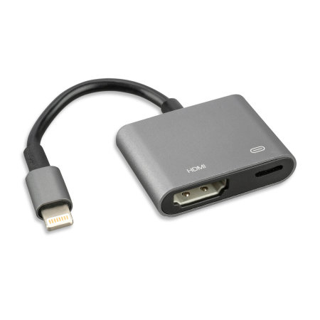 4smarts Lightning to HDMI Full HD Adapter - Black/Grey