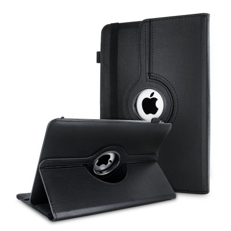 "Olixar Leather-Style Universal 10"" Tablet Folio Case - Black"
