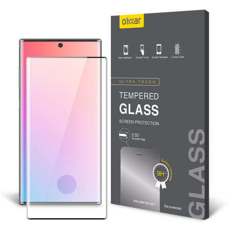 Olixar Samsung Galaxy Note 10 Plus 5G Tempered Glass Screen Protector