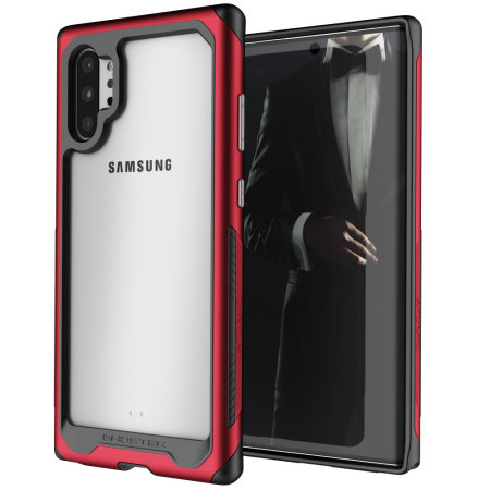 Ghostek Atomic Slim 3 Samsung Galaxy Note 10 Plus Case - Red