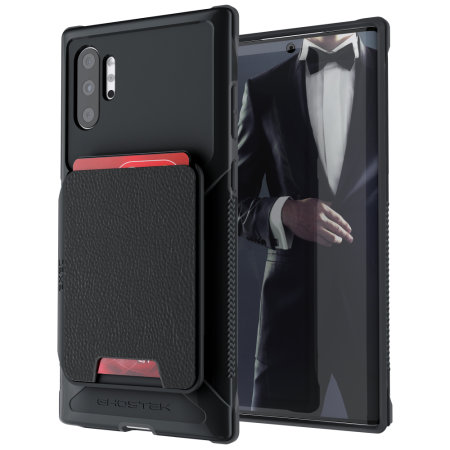 Ghostek Exec 4 Samsung Galaxy Note 10 Plus Wallet Case - Black