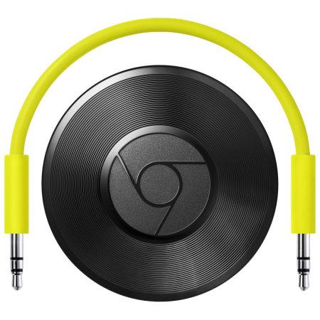 Google Chromecast Audio EU Plug - Zwart
