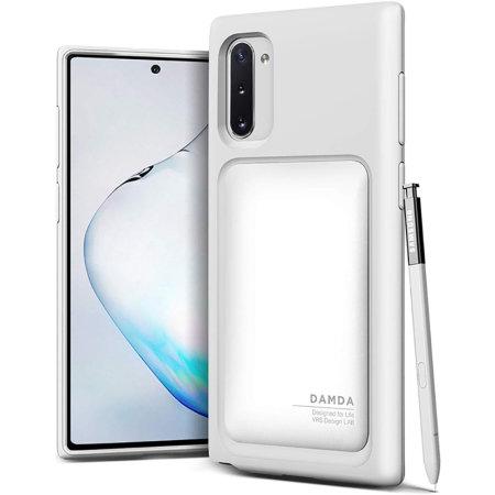 VRS Design Damda High Pro Shield Samsung Note 10 Case - White