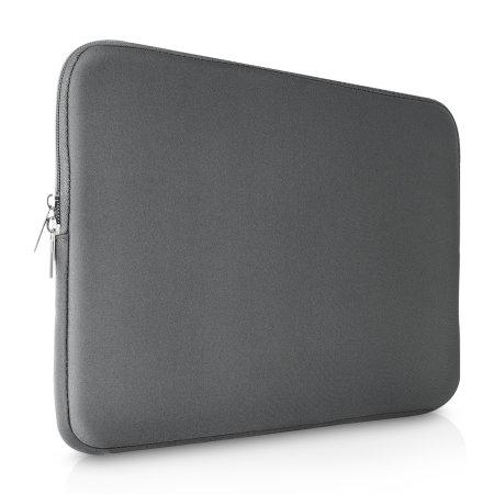 "Olixar Universal Neoprene Laptop Sleeve 15"" - Grey"
