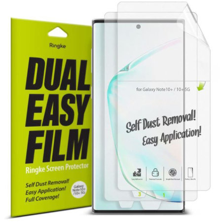 Ringke Samsung Galaxy Note 10 Plus Screen Protector - 2 Pack