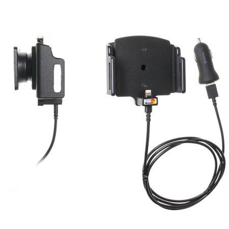 Brodit Active Holder Tilt Swivel iPhone 11 Pro Max MFi Lightning Cable
