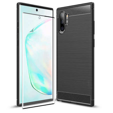 Olixar Sentinel Samsung Note 10 Plus Case & Glass Screen Protector