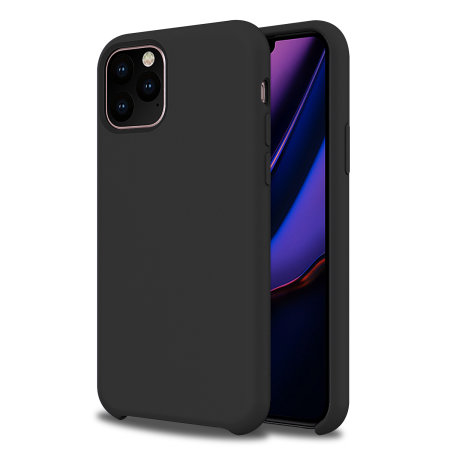 Olixar Soft Silicone iPhone 11 Pro Case - Black