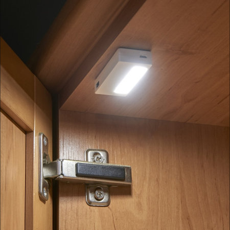 Auraglow Proximity Sensor Drawer & Cupboard LED Lights - Twin pack