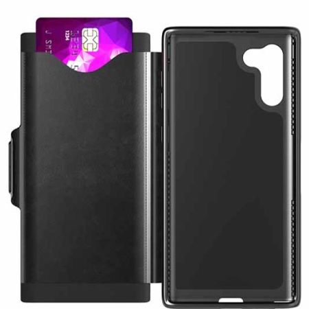 Tech21 Evo Wallet Samsung Galaxy Note 10 Case - Black