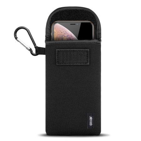 """Housse universelle Olixar Néoprène pour smartphone 6,8"""" – Noir"""