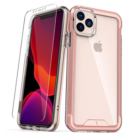 Zizo Ion iPhone 11 Pro Case & Screen Protector - Rose Gold