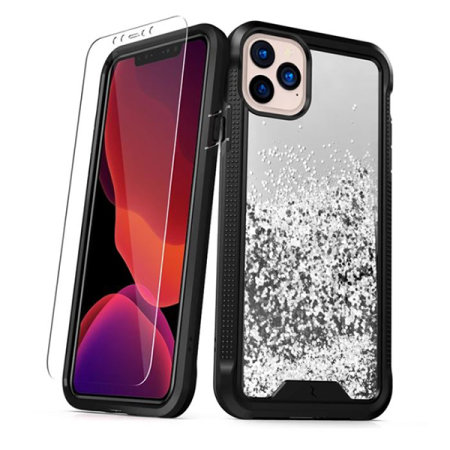 Zizo Ion iPhone 11 Pro Case & Screen Protector - Silver