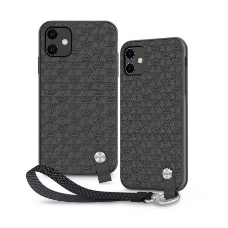Moshi Altra iPhone 11 (SnapTo™) Ultra Slim Case - Shadow Black