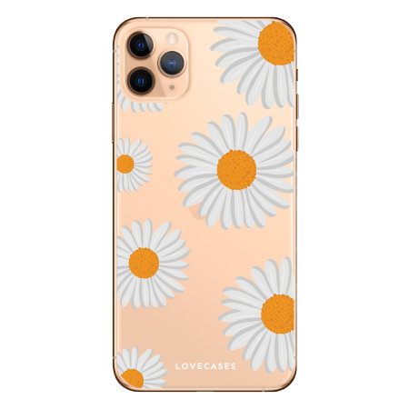 LoveCases iPhone 11 Pro Daisy Case - white